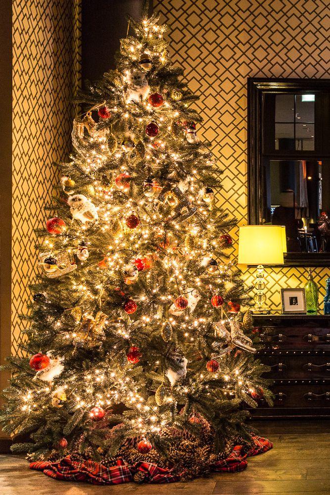 weihnachten mit the george ein design hotel im festrausch. Black Bedroom Furniture Sets. Home Design Ideas